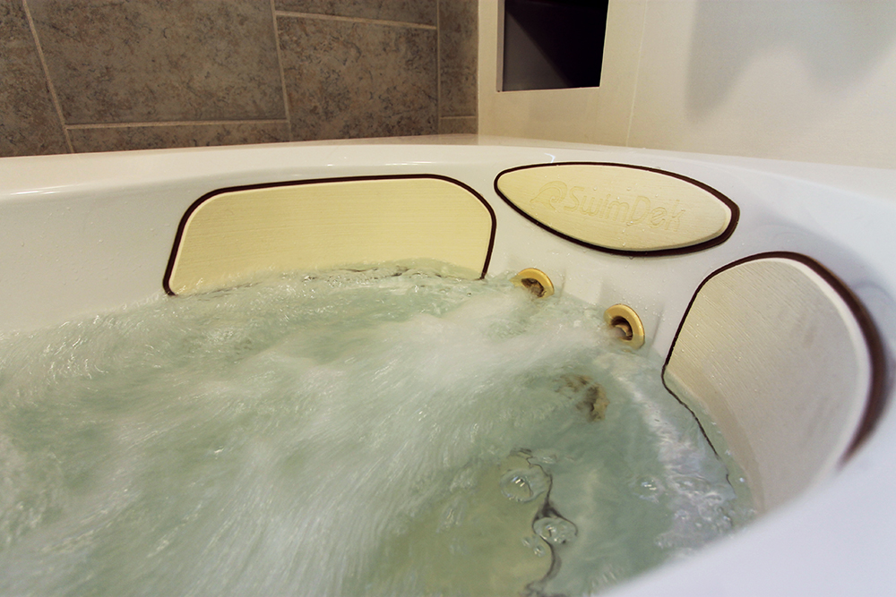 Dressing Up a Tub with SwimDek